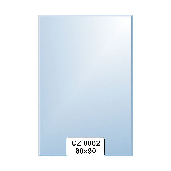 Ellux Zrcadlo obdélník s fazetou FBS CZ - 0062 (rozměr 60*90cm)