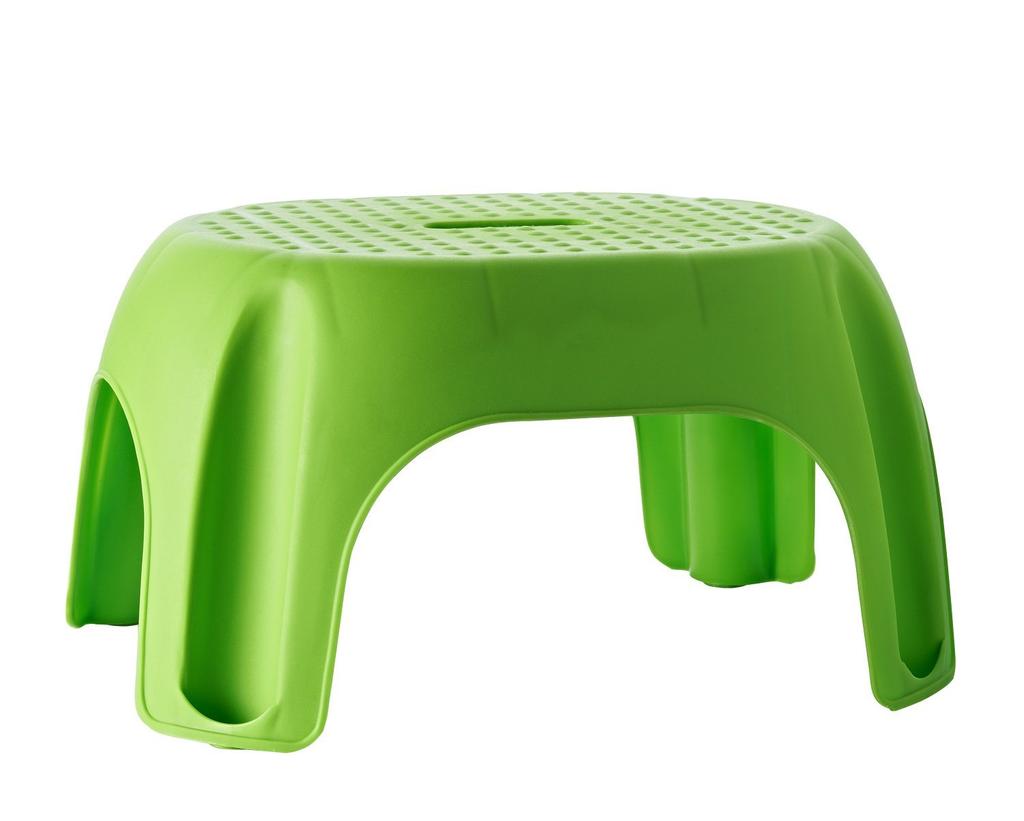 Stolička Ridder Premium do koupelny, zelená, A1102605, 22 x 33 x 24 cm