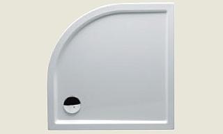 Riho sprchová vanička 278 80*80*4,5cm bez panelu a nožiček (R 55)
