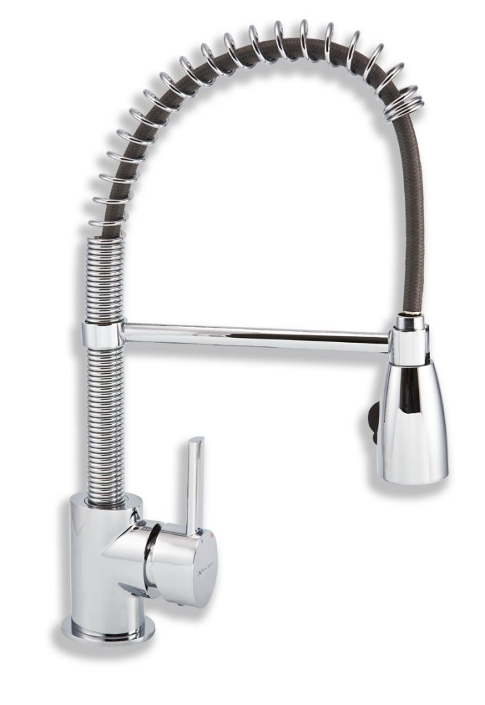 Novaservis Nobless oval 32481.0 dřezová baterie s pružným ramneme a sprchou