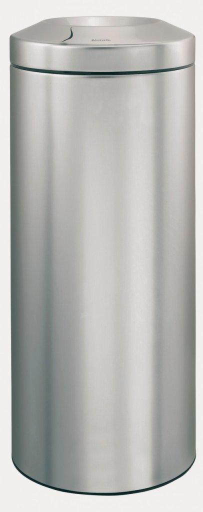 Merida KMS20 - Odpadkový kovový koš samozhášecí 30 l nerez mat