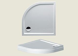 Riho sprchová vanička 281 90*90*4,5cm s panelem a nožičkami (R 55)