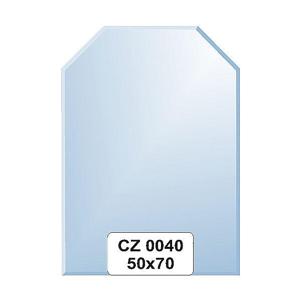 Ellux Zrcadlo šestiúhelník s fazetou FBS CZ - 0040 (rozměr 50*70cm)