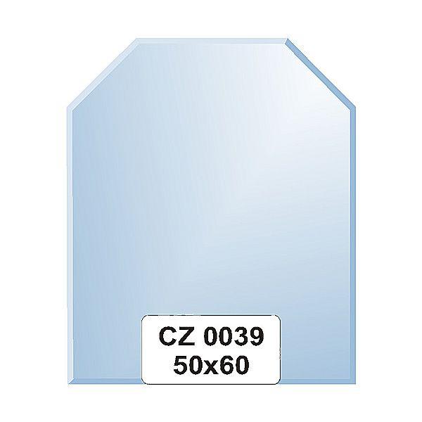 Ellux Zrcadlo šestiúhelník s fazetou FBS CZ - 0039 (rozměr 50*60cm)