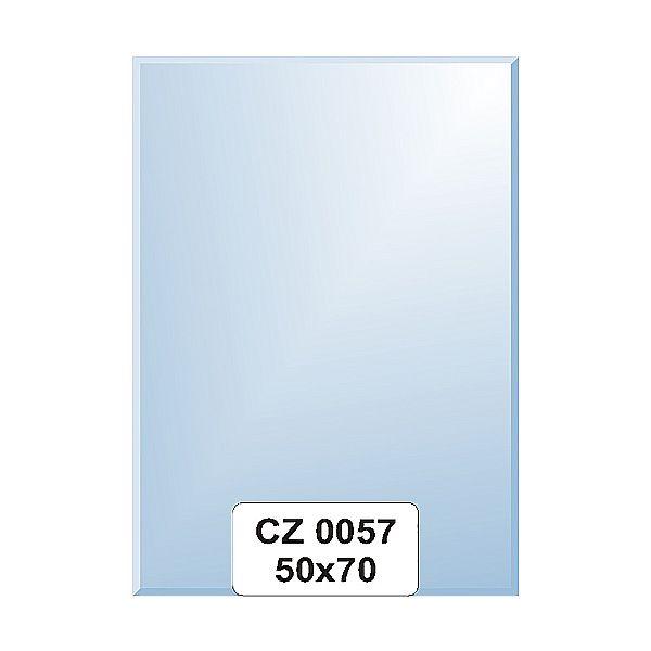 Ellux Zrcadlo obdélník s fazetou FBS CZ - 0057 (rozměr 50*70cm)