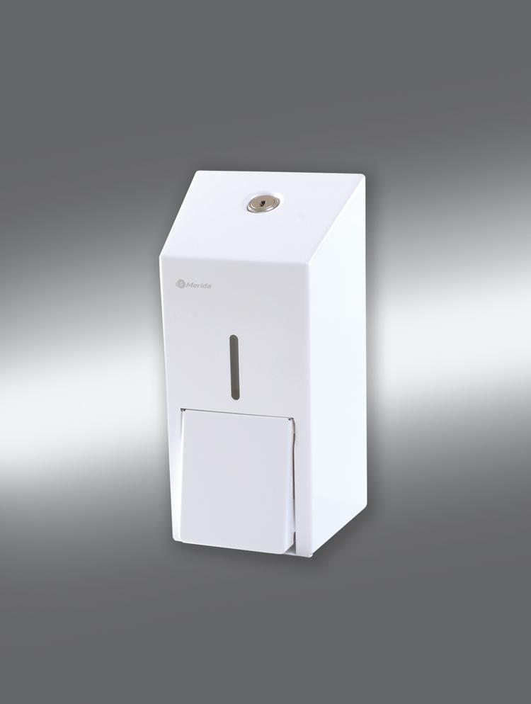 Merida DSB102 - Dávkovač tekutého mýdla STELLA MINI bílý 0,4 l