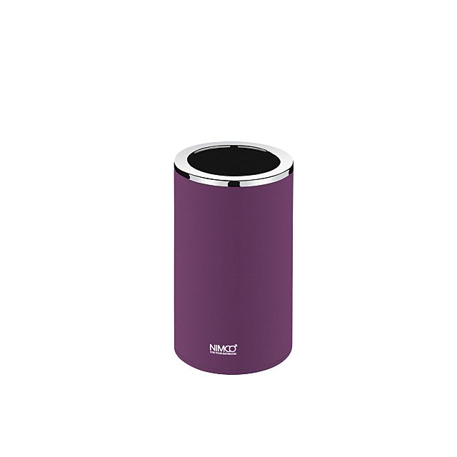 Nimco Pure pohárek na kartáčky na postavení fialový PU 7058-50