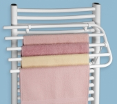 Sušáky Sušák ručníků na otopné těleso bílý V450 - na 4 ručníky