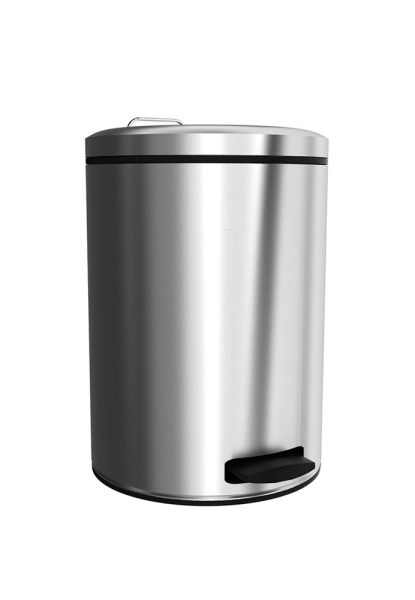 Merida B4B - Odpadkový koš nášlapný kovový nerez mat 12 l