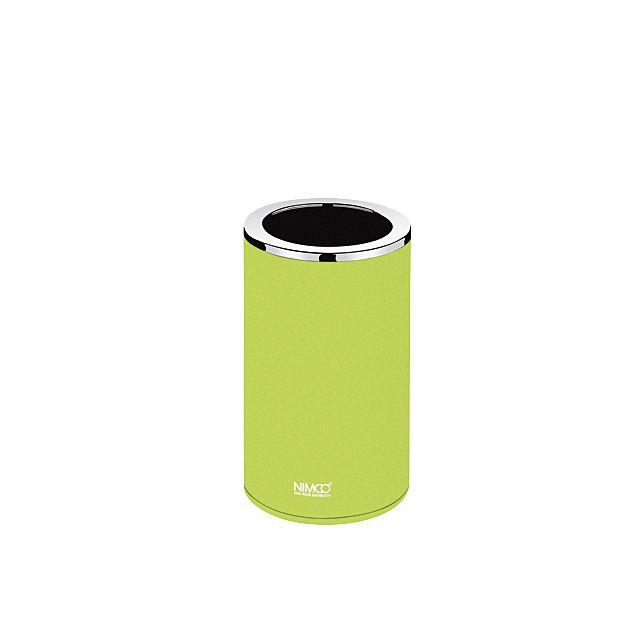 Nimco Pure pohárek na kartáčky na postavení žlutozelený PU 7058-75