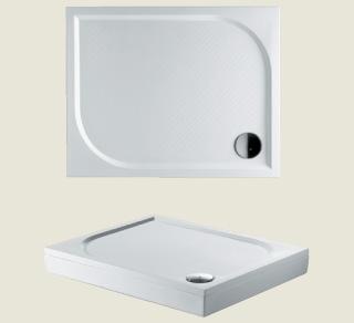 Riho sprchová vanička KOLPING DB31 100*80*3cm