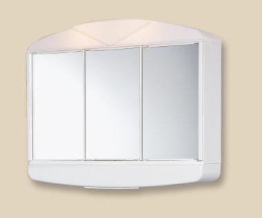 Jokey ARCADE galerka(zrcadlová skříňka) s osvětlením bílá