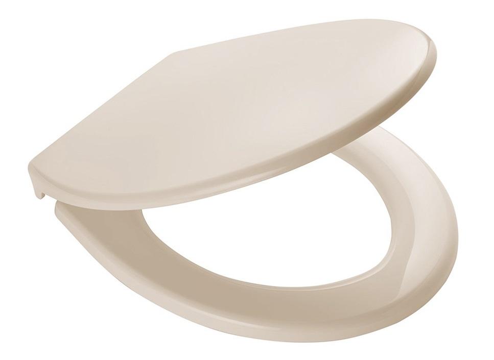 Ridder MIAMI 02101111 WC sedátko, soft close, PP termoplast - sv. krémová 44,3 × 37 cm