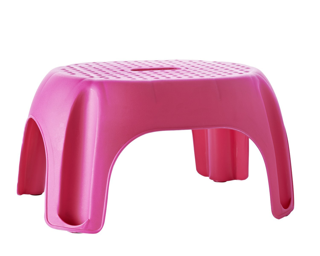 Stolička Ridder Premium do koupelny, růžová, A1102613, 22 x 33 x 24 cm