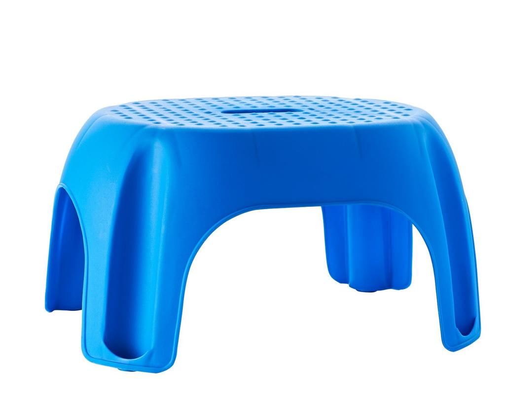 Stolička Ridder Premium do koupelny, modrá, 22 x 33 x 24 cm, A1102603