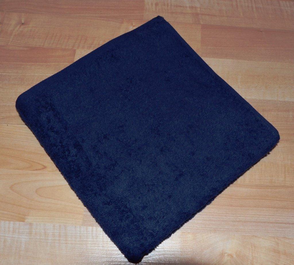 Brotex Froté ručník 50x100cm bez proužku 450g tmavě modrý