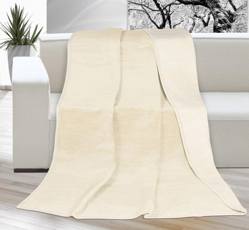 Brotex deka kira plus tmavě béžová/světle béžová 150x200