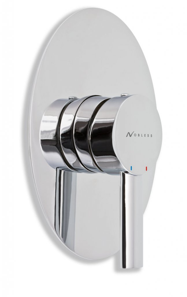 Nobless oval 32050.0 sprchová podomítková baterie chrom