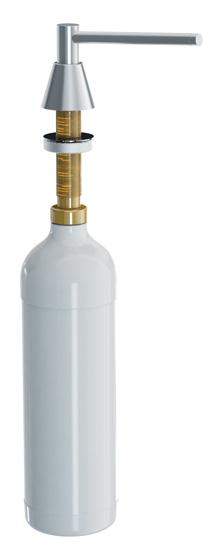 Merida DWM101 - Dávkovač tekutého mýdla umyvadlový mat