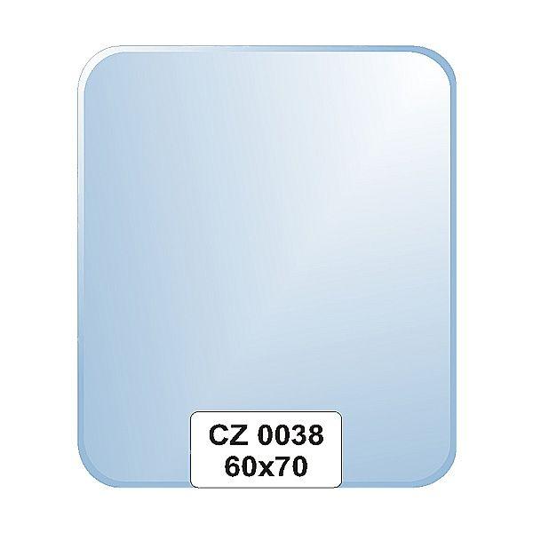 Ellux Zrcadlo obdélník s fazetou FBS CZ - 0038 (rozměr 60*70cm)