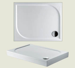 Riho sprchová vanička KOLPING DB32 100*90*3cm