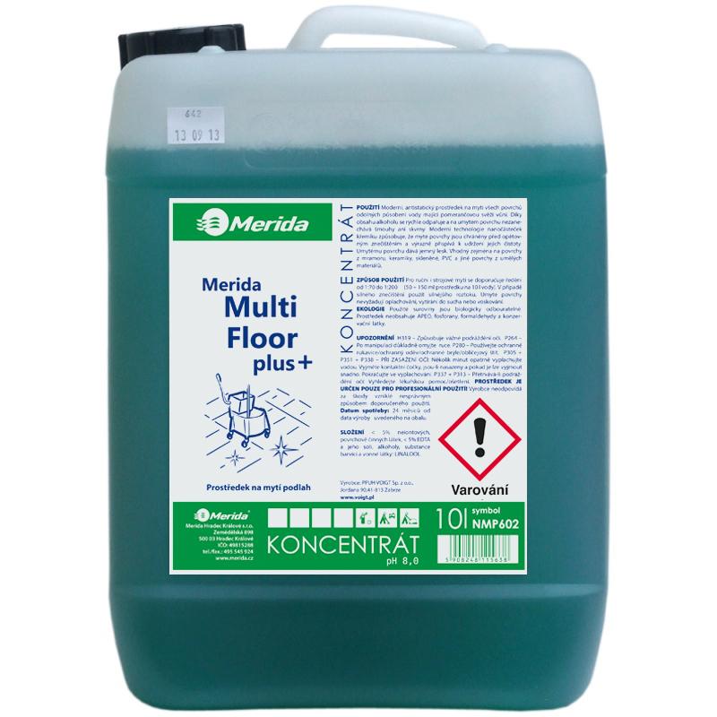 Merida NMP602 - Prostředek na podlahy MULTI FLOOR Plus 10 l.