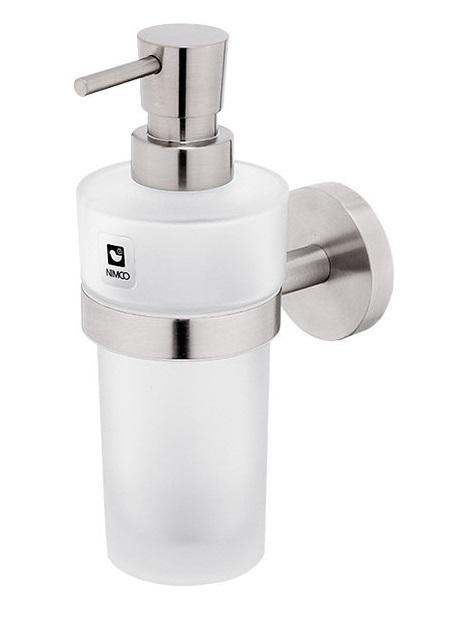 Nimco Unix UNM13031W-T-10, dávkovač tekutého mýdla, broušená nerez, Nimco nerez