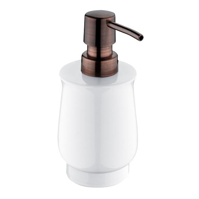 Nimco Lada dávkovač na tekuté mýdlo na postavení, staroměď, 1031LA-80