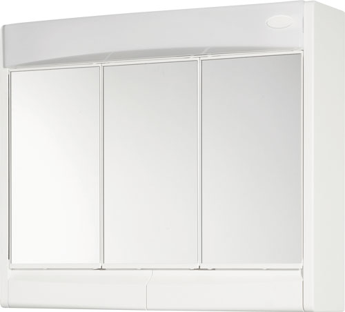 Jokey SAPHIR Zrcadlová skříňka - bílá - š. 60 cm, v. 51 cm, hl.18 cm 59132-011