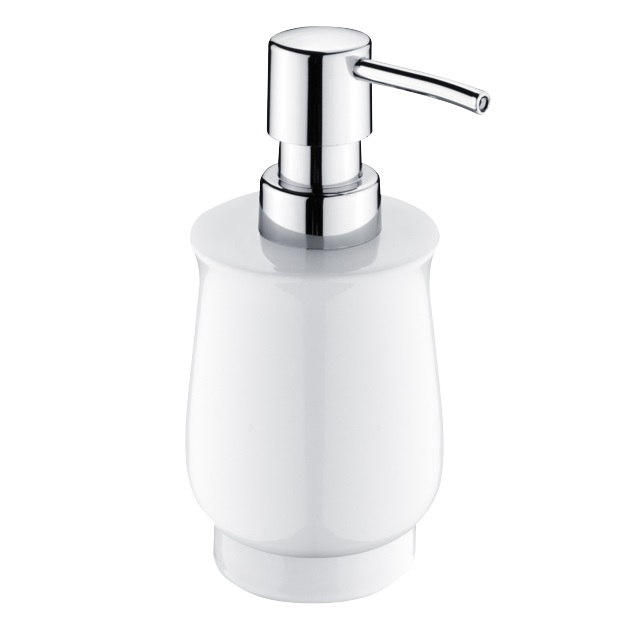Nimco Lada dávkovač na tekuté mýdlo na postavení, chrom, 1031LA-26