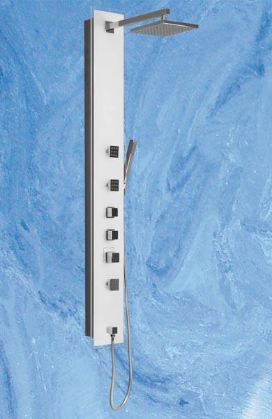 Roltechnik LUCE KVADRO sprchový masážní panel s termostatickou baterií