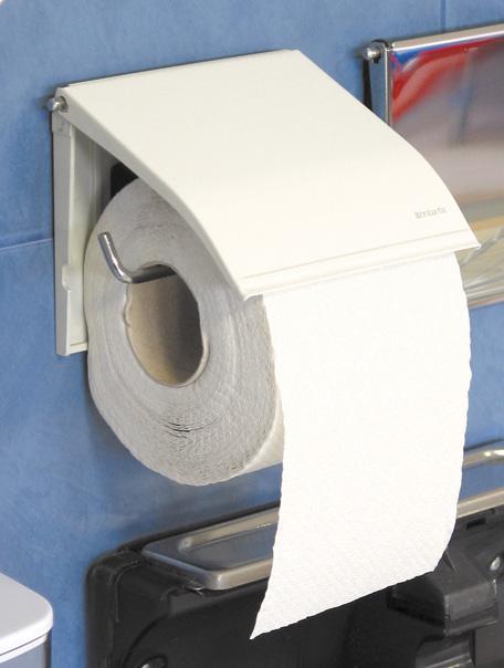 Merida U1B - Zásobník na toaletní papír klasický,bílý komaxit