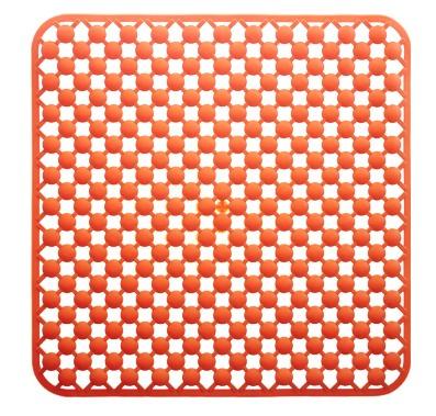 Grund Maggeo protiskluzová podložka oranžová, 53x53cm