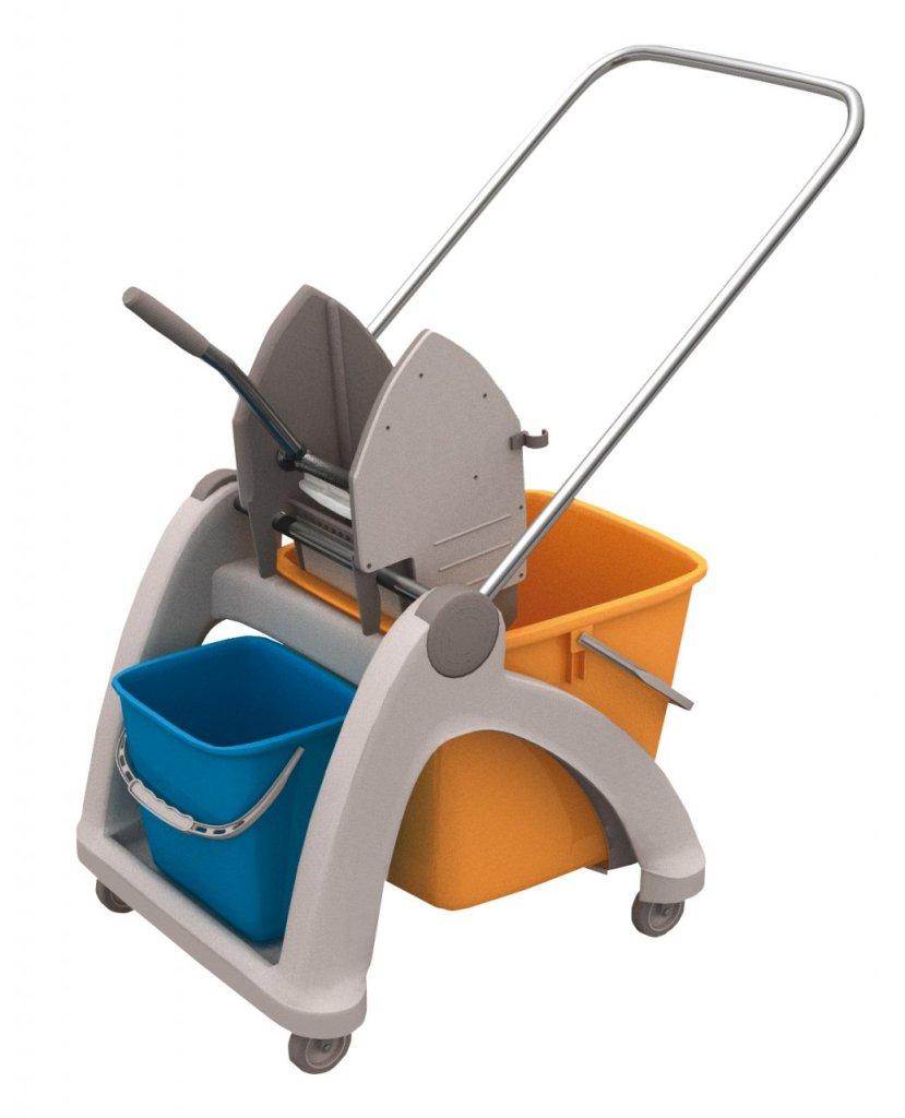 Merida MO2P - Úklidový vozík Roll-Mop s plastovou konstrukcí (MO2P)