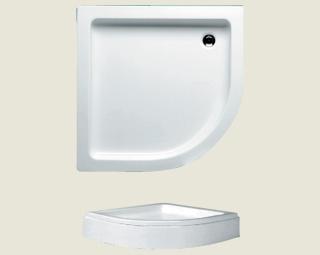 Riho sprchová vanička 207 90*90*8,5cm bez panelu a nožiček (R 55)