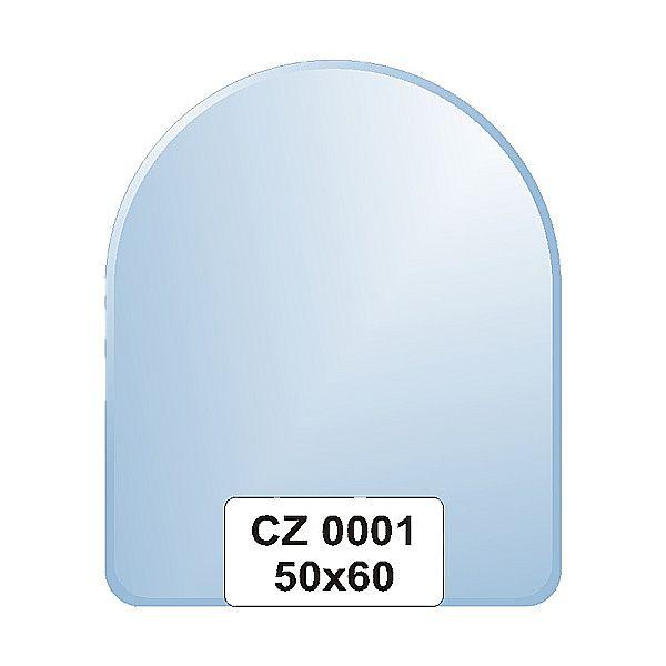 Ellux Zrcadlo zaoblené s fazetou FBS CZ - 0001 (rozměr 50*60cm)