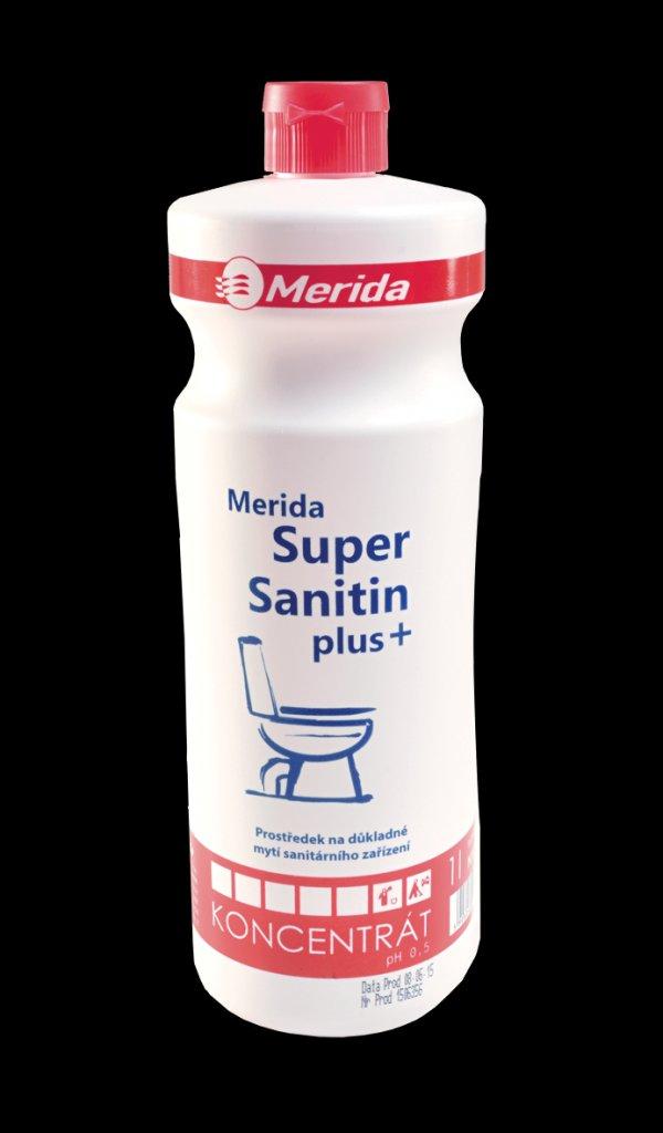 Merida NML104 - Čistící prostředek na mytí WC SUPER SANITIN Plus 1 l.
