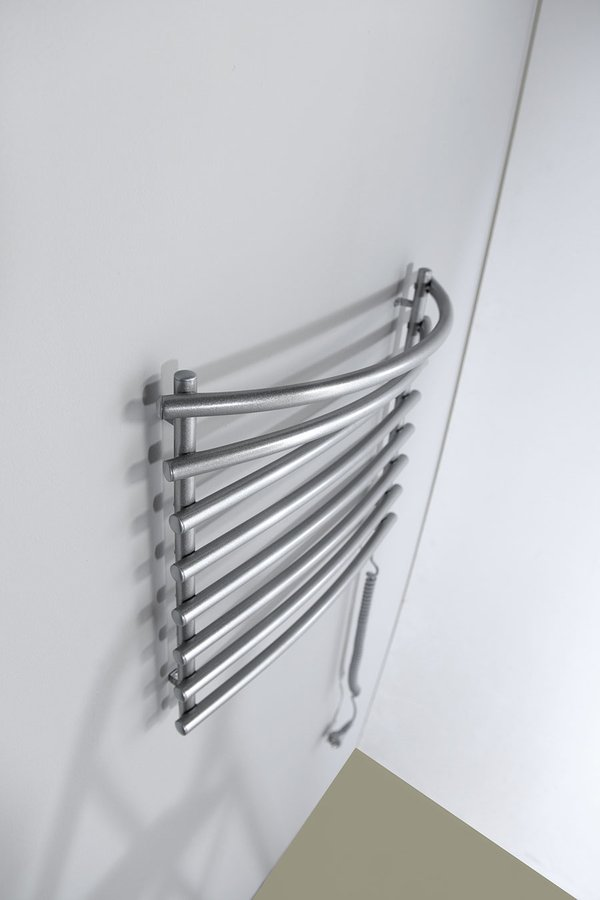 Aqualine sušák ručníků, 570 x 465 , metalická stříbrná ( SU210 )