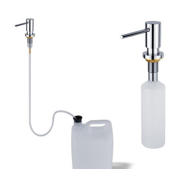 Nimco UN 6031V-26, zápustný dávkovač tekutého mýdla nebo prostředku na mytí nádobí