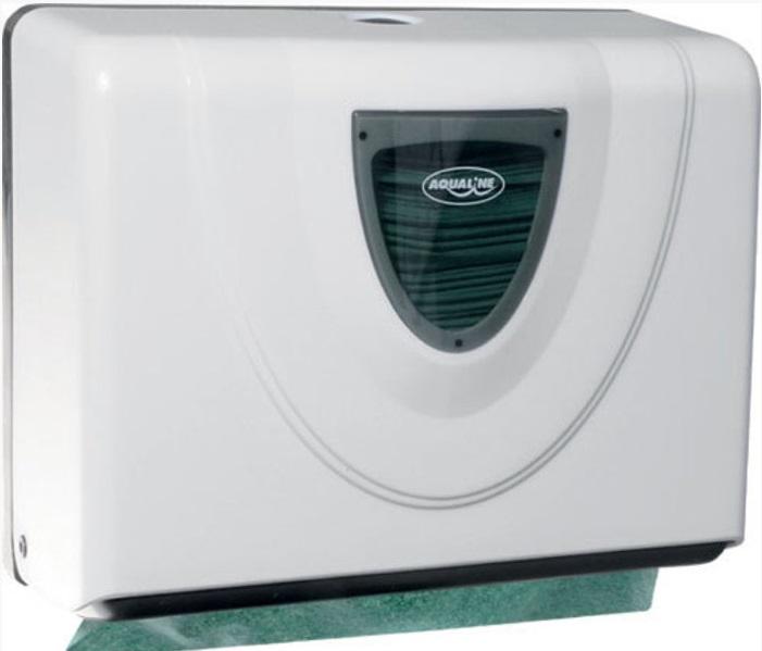 Aqualine Akce: Zásobník papírových ručníků 270x210mm + náhradní ručníky, doprodej