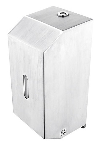 Nimco HPM 27031-MS-10 zásobník na dezinfekční gel nebo na tekuté mýdlo 800ml broušená nerez MAT
