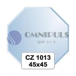 Ellux Zrcadlo osmiúhelník s fazetou FBS CZ - 1013 (rozměr 45*45cm)