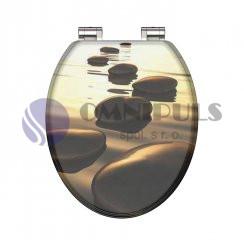 Eisl Sanitär SEA STONE 80127, Wc sedátko, MDF, soft close