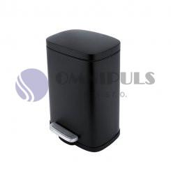 Nimco KOS 8005-90 odpadkový koš černá mat, 5 litrů
