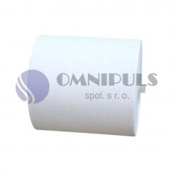Merida RAB301 - Papírové ručníky v rolích MAXI AUTOMATIC, bílé, 1 vrstvé, (6roíl/balení)