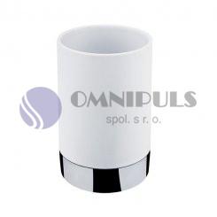 Nimco LIO pohárek na kartáčky Li 25058-05, bílý