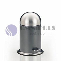Kela line 18125 DOM kosmetický odpadkový koš nerez ocel antracit 3litry (doprodej)