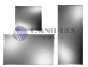 Andex L1/H Zrcadlo závěsné 50x40 cm