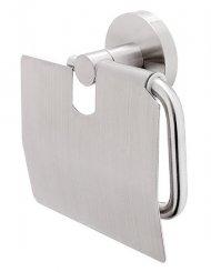 Nimco Unix NEREZ UNM 13055B-10, držák na toaletní papír s krytem, broušená nerez