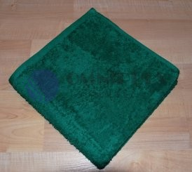 Brotex Froté osuška 70x140cm bez proužku 450g tmavě zelená